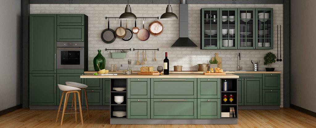 Sugerencias de cocinas con estilo romántico