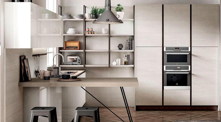 Pequeñas cocinas convertidas en grandes espacios